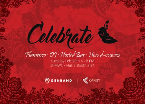 celebrate genband