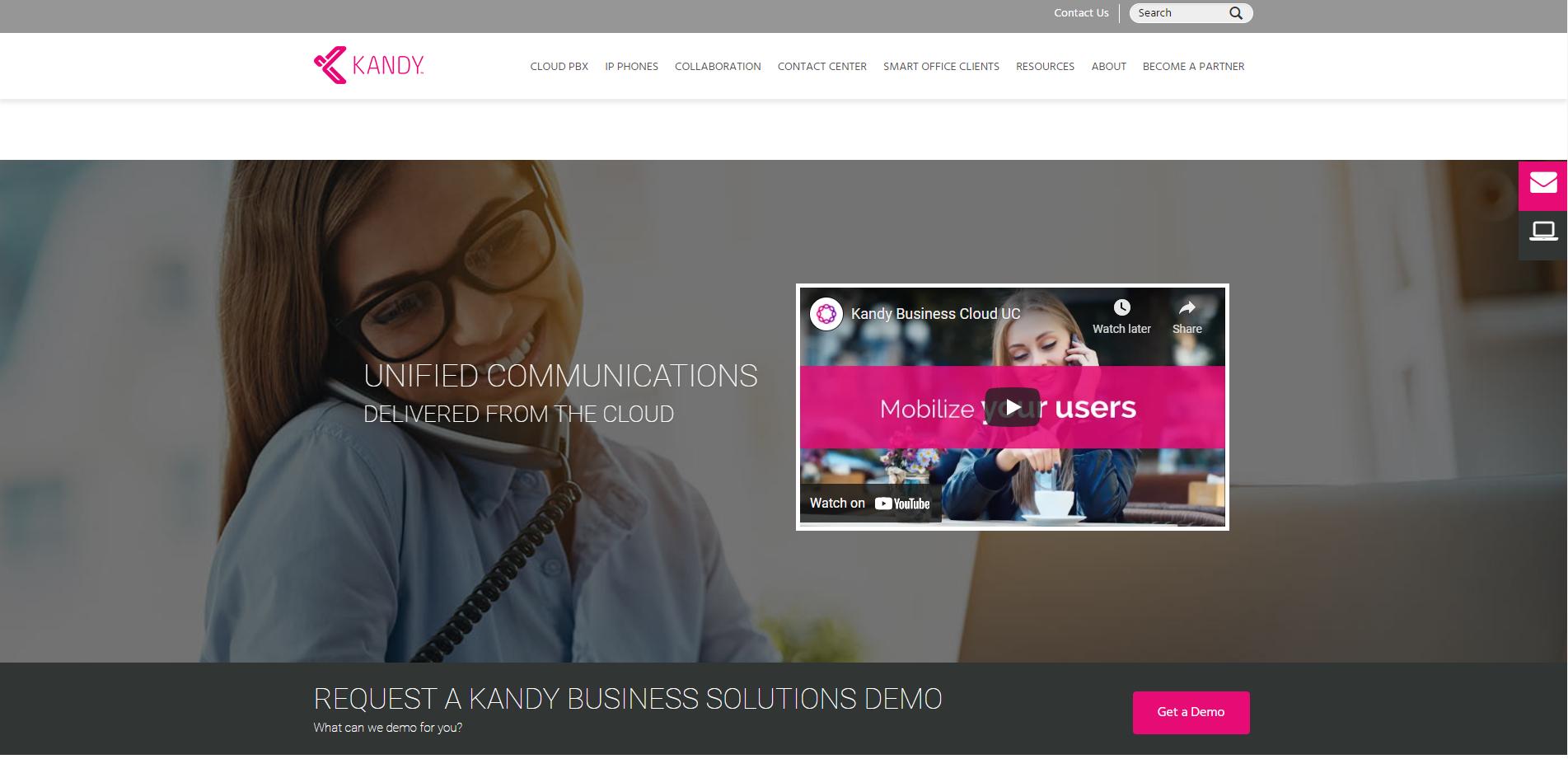 ucaas-kandy website